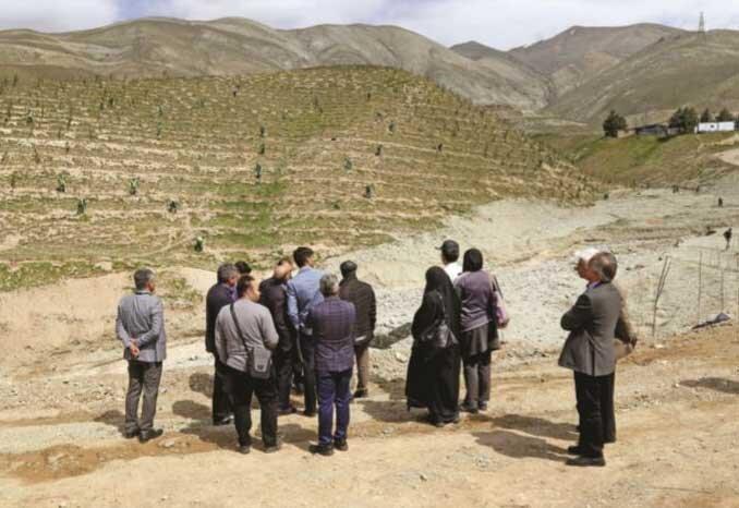 کمربند سبز برای دفاع از تهران