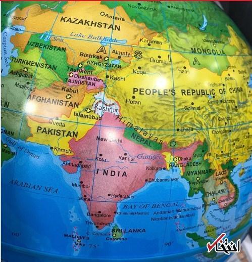 ادامه تنش های سرزمینی بین دهلی و پکن، چین نام دو ایالت را از نقشه هند حذف کرد