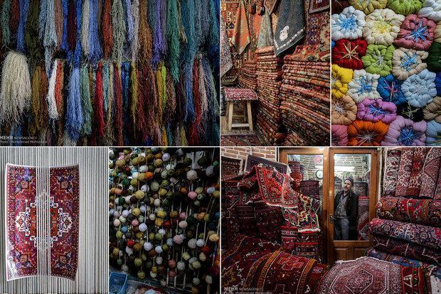 سنگینی مسائل روی دوش فرش بافان، روند صادرات فرش کُند شد