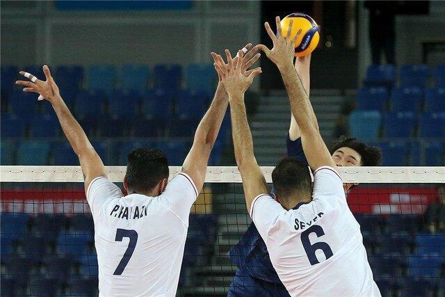 تقابل دوباره والیبال ایران با چین در فینال انتخابی المپیک
