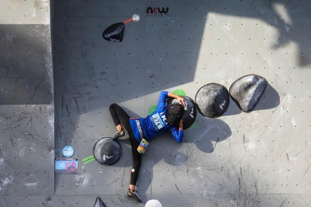 بانوی ملی پوش سنگنوردی: کسب مدال در آسیا سخت است