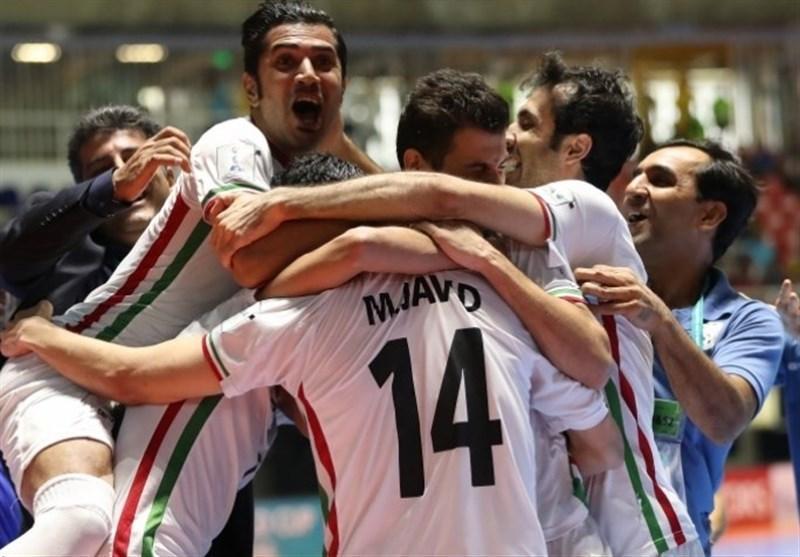 تیم ملی فوتسال همچنان در رده ششم دنیا و اول آسیا
