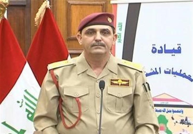 واکنش عملیات مشترک عراق به حمله به پایگاه های آمریکا