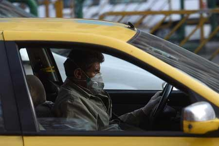 ادامه اجرای طرح فاصله گذاری در تاکسی ها ، تقسیم کرایه نفر چهارم بین 3 مسافر