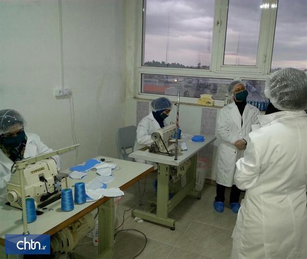 فراوری روزانه 3هزار ماسک در کرمانشاه توسط هنرمندان صنایع دستی