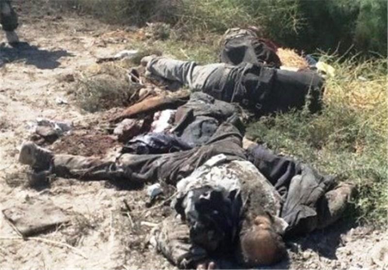 عراق، داعشی ها در محاصره حشد شعبی، سه تروریست به هلاکت رسیدند