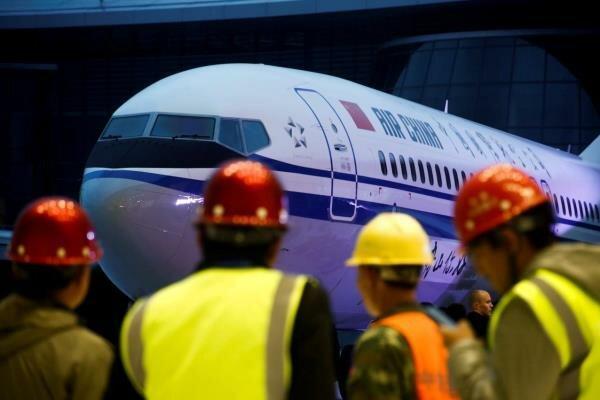 پرواز آزمایشی بوئینگ 737 مکس جت برای بررسی ایمنی