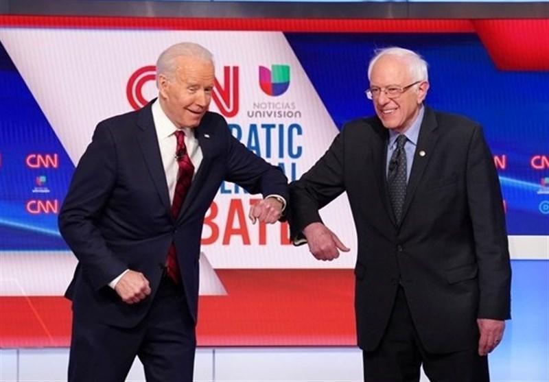 بایدن و سندرز: برای شکست دادن خطرناکترین رئیس جمهور تاریخ آمریکا باید متحد شویم