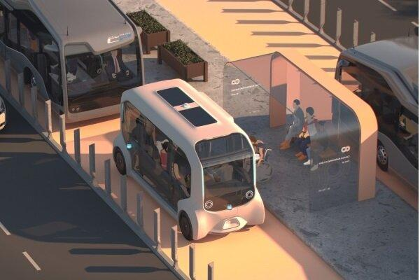 طراحی جاده ویژه برای خودروهای خودران