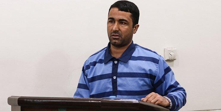 اجرای حکم مصطفی صالحی از اغتشاشگران دی 96 ، تصاویر پاسدار شهید و اغتشاشگری که به دار آویخته شد