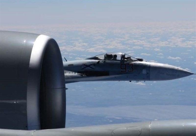 2 جنگنده روسی بمب افکن راهبردی آمریکا را رهگیری کردند