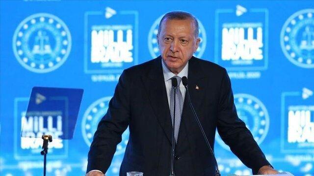اعتراض اردوغان به ممنوعیت پهپادی کانادا