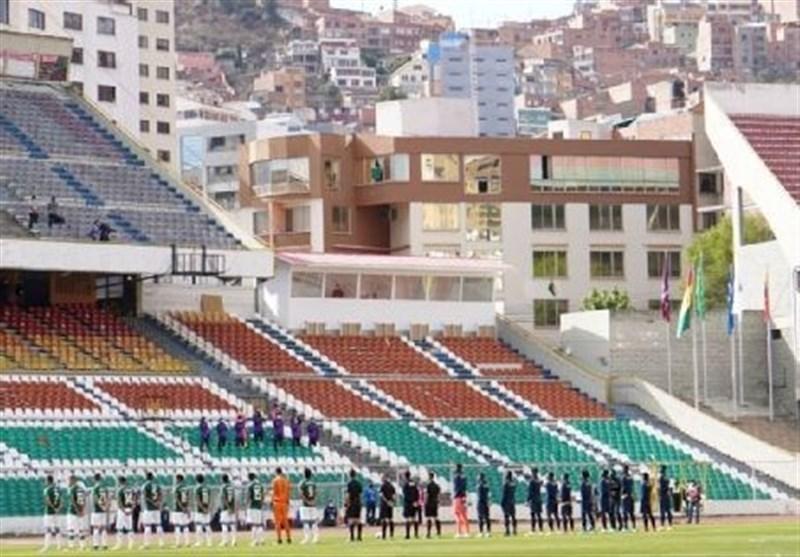 دستگیری رئیس فدراسیون فوتبال بولیوی در ورزشگاه محل برگزاری بازی تیم ملی این کشور