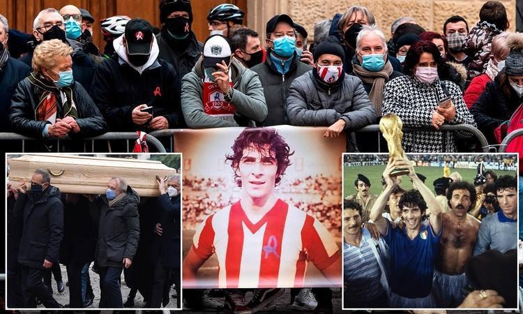 (تصاویر) خداحافظی با پائولو روسی، اسطوره فوتبال ایتالیا
