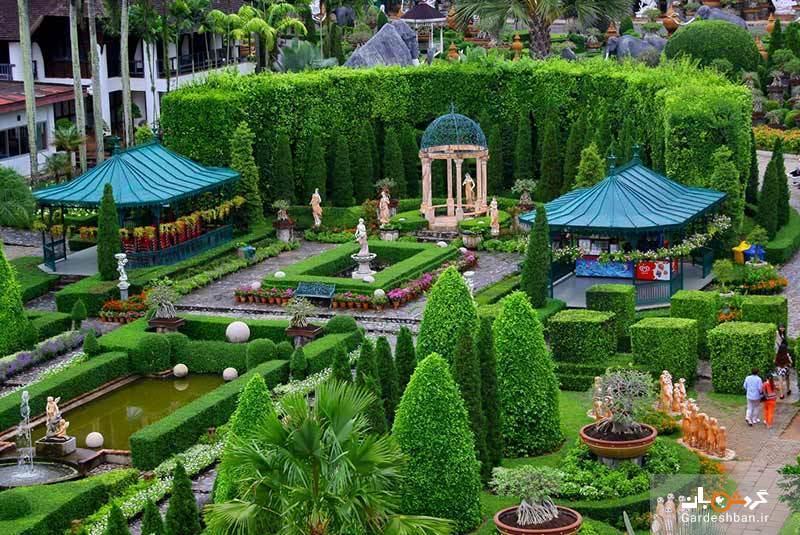 باغ نانگ نوچ پاتایا، یکی از ده باغ زیبای دنیا