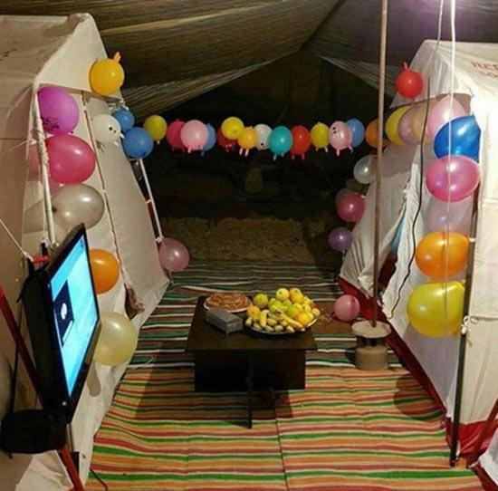حبیب رضایی از امید در زلزله می گوید