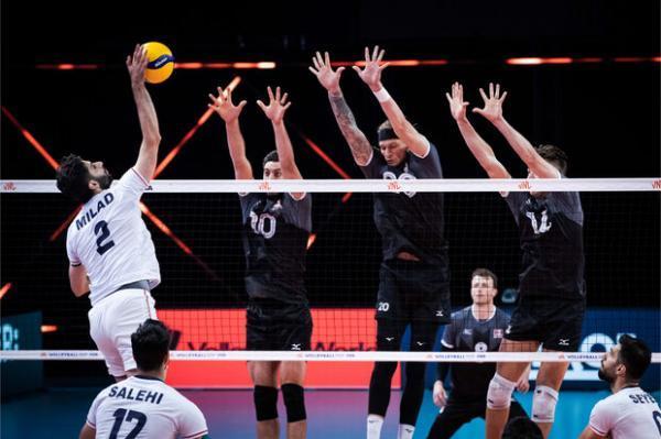 تور کانادا: پیروزی تیم ملی والیبال ایران برابر کانادا، دومین برد شاگردان الکنو
