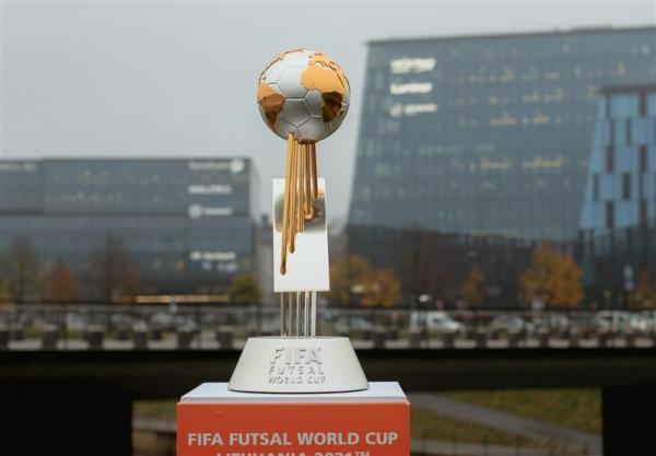 برنامه دیدارهای ایران در جام جهانی فوتسال معین شد، احتمال تقابل مجدد با برزیل در یک هشتم نهایی