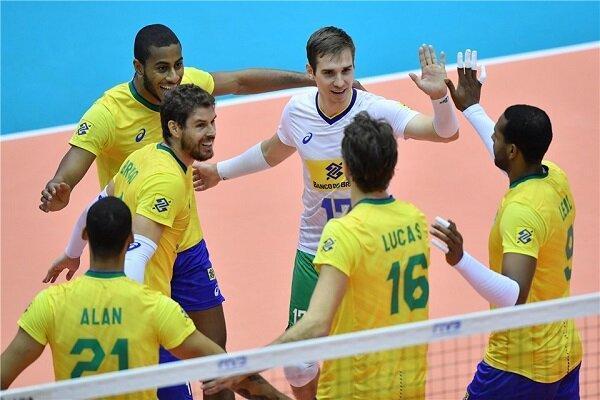 برزیل قهرمان لیگ ملت های والیبال شد