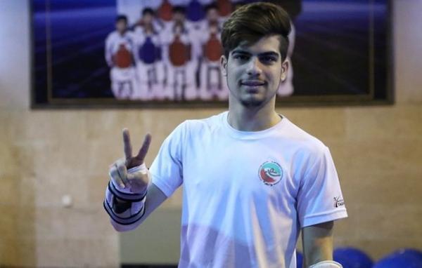 تکواندوکار سابق تیم ملی ایران در تمرین تیم ملی کرواسی