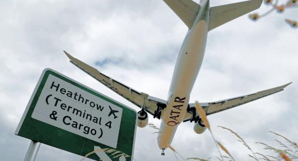کاهش محدودیت های سفر به انگلیس با قطر ایرویز