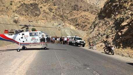 سقوط مینی بوس به دره در پلنگان 16 کشته بر جای گذاشت