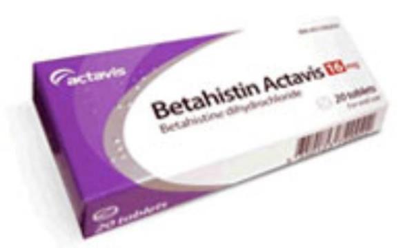بتاهیستین Betahistine